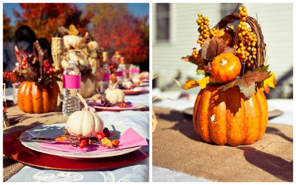 Autumn Table Centerpiece